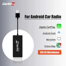 Loadkey & Carlinkit filaire Carplay Android Auto Dongle pour Android système écran Smart link Support miroir-lien IOS 14 carte musique
