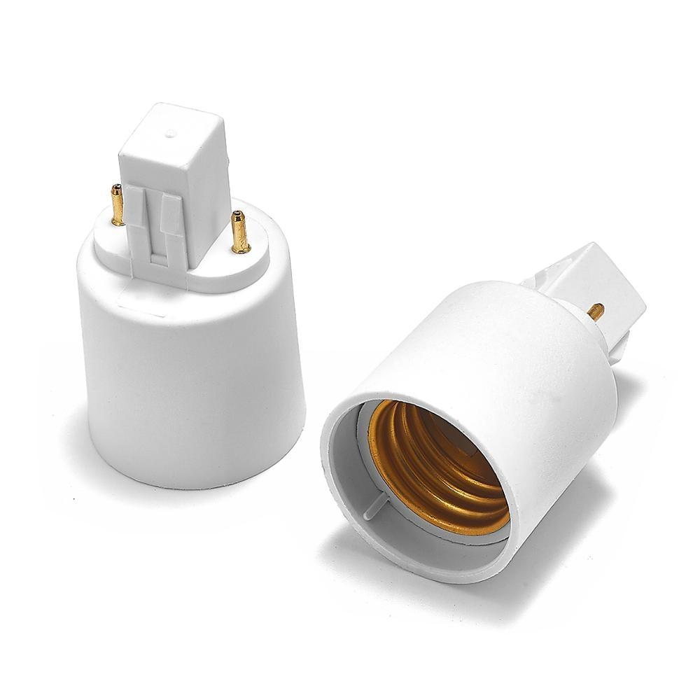 GX23 To E27 Adapter GX23 To E26 Lamp Holder Power Adapter Converter Base Socket LED Light Bulb Extend Extension Plug