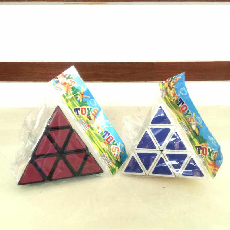Новый черный белый 3*3*3 Пирамидка скоростной магический куб 98*98*98 мм профессиональный магический куб Пазлы красочные Развивающие игрушки для детей