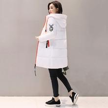 YICIYA Women 2019 New Winter Down jacket Women Coat Long Hooded Outwear Female Parka Thick Cotton Padded Female Basic Coats LU666 стоимость
