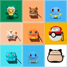 3D Headphone Case For Airpods Pro Case Silicone Stitch Dog Cartoon Earphone/Earpods