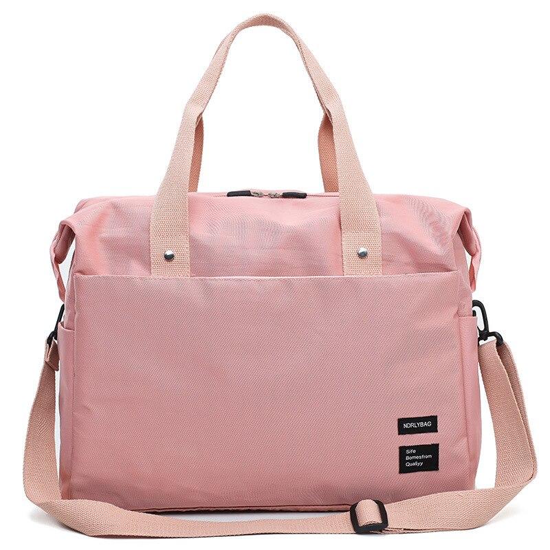 New Style Nylon Travel Bag Fashion With Travel Trolley Pocket Travel Bag Oxford Cloth Waterproof Casual Gym Bag
