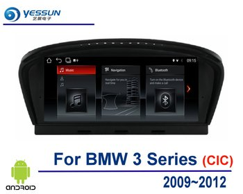 Car Android Multimedia Player GPS Navigation System For BMW 3 Series 2009 2010 2011 2012 Car Radio Audio Video HD Touch Screen