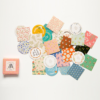 40pcs/pack cute Flower dream Memo pad Stickers Posted It Kawaii Planner Scrapbooking  Stationery Sticker Escolar School Supplies - discount item  15% OFF Stationery Sticker