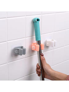 Broom Hanger Hooks Brush Holder Mop-Organizer Household-Tools Wall-Mounted Bathroom-Suction
