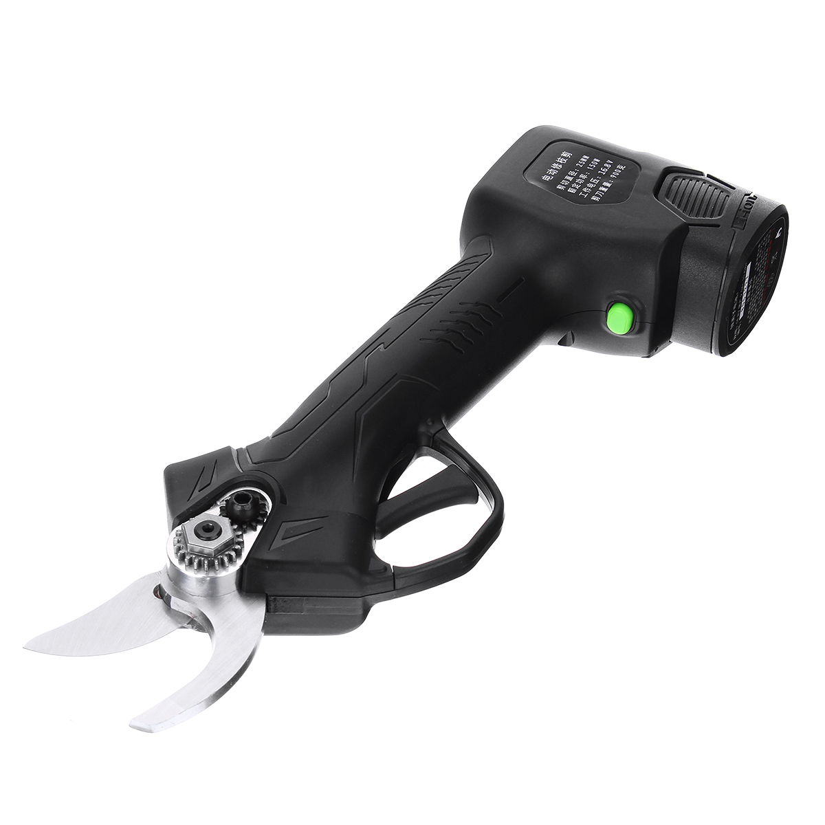 Rechargeable Electric Garden Scissors for Pruning Stems and Branches with Durable Battery and 2.5 CM Maximum Cutting 9