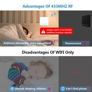 Image 3 - Smatrul チュウヤスマートライフアプリ wifi + rf 433 mhz diy リレータイマーモジュール google ホーム amazon alexa 110 v 220 v 10A スイッチライトファン