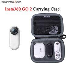 Sunnylife Insta360 GO 2 Storage Bag Portable Mini Carrying Case For Insta360 GO 2 Action Camera Accessories