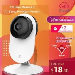 Yi Home Camera 3 1080, Ghi Hình Cực Nét, Giá Rẻ Nhất-BH UY TÍN Bởi TECH-ONE Thông Minh Camera An Ninh Ngôi Nhà Quan Sát Không Dây Cam Tầm Nhìn Ban Đêm EU Phiên Bản Android YI Cloud