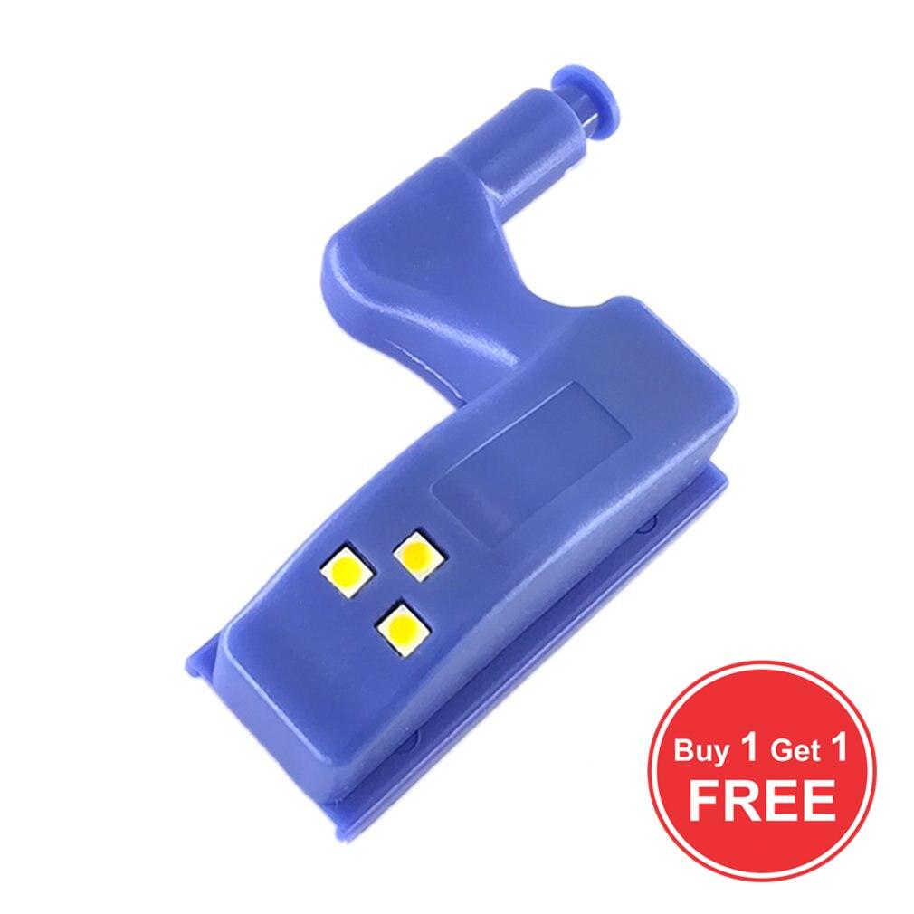 Buy 1 Get 1 Free Inner Hinge Lamp LED Sensor Light Home Kitchen Night Light Bedroom Living Room Cabinet Cupboard Closet Wardrobe