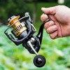 2019 Nuova Bobina di Pesca 5.0: 1/4. 7:1 Super Forte Pesca Alla Carpa Alimentatore Bobina di Filatura tipo di ruota Che Gira ruota pesca FBE