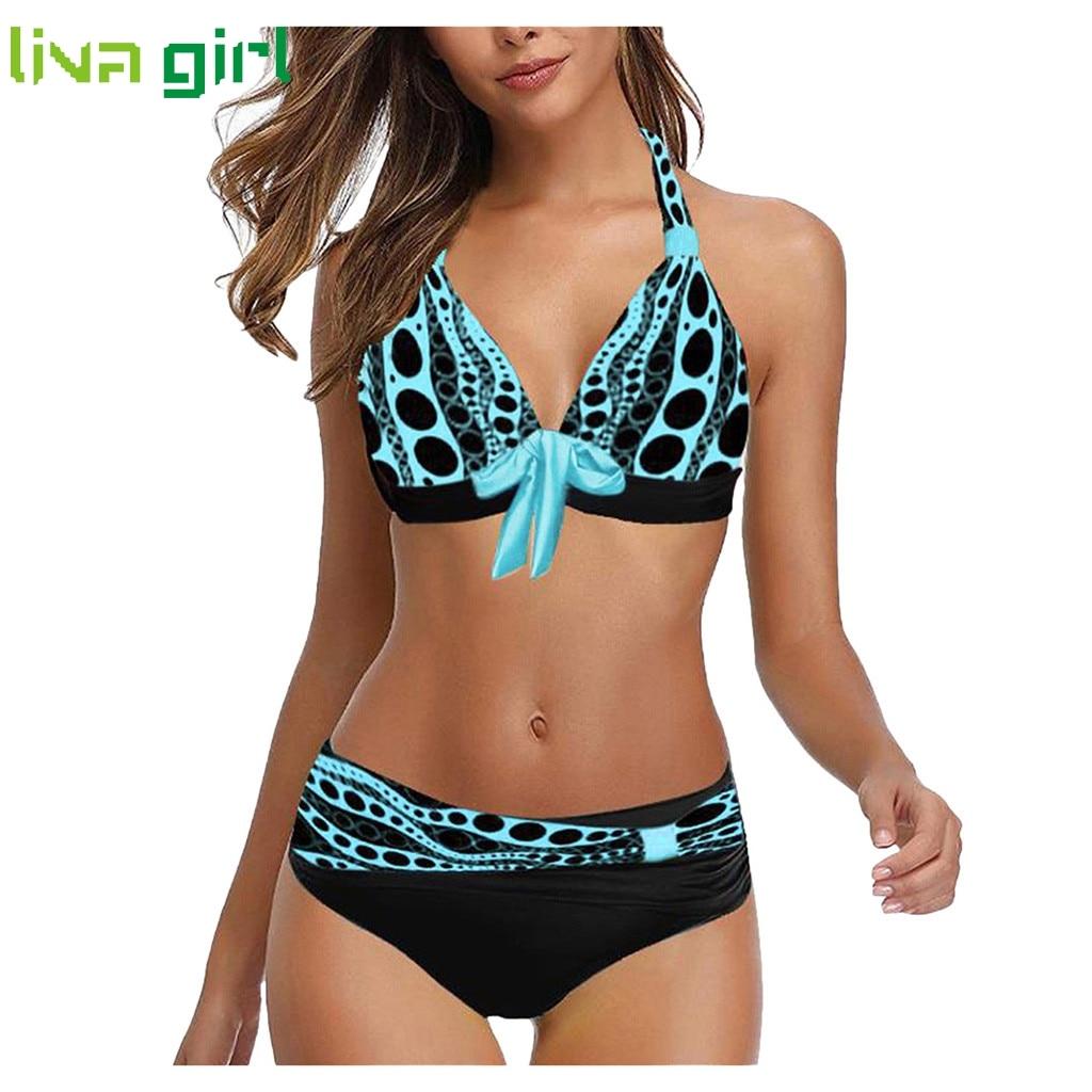 Plus Size Sexy Bikini Set Swimwear Tankini Swimwear Women Padded Swimwear Summer Brazilian Beachwear Biquini Swimsuit Beachwear
