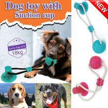 Multifunction Pet Molar Toy Cleaning Teeth Safe Elasticity for Dog Puppy Toy Bite Resistant Pet Supplies Chew Knot Toy drop ship(China)