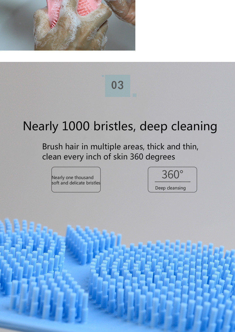 DermaBath Silicone Exfoliating Brush