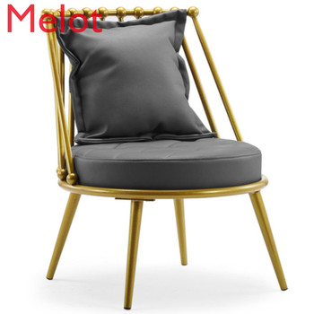 Simple Lazy Sofa Chairs Modern Apartment Living Room Chair Balcony Small Lounge Chair Vanity Chair Bedroom Furniture Chair mid century modern style armchair sofa chair legs wooden linen upholstery living room furniture bedroom arm chair accent chair
