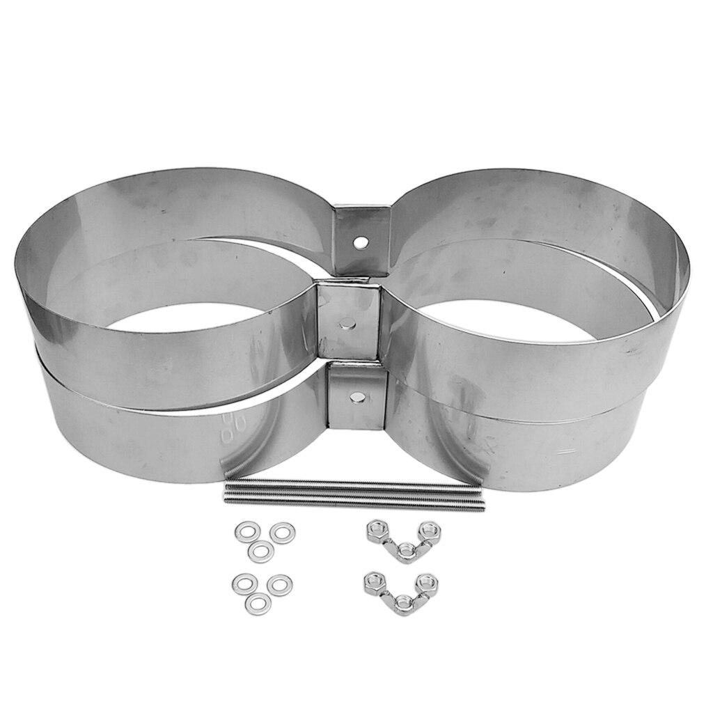 Bandes de montage/connecteur/retenue de réservoir de Double cylindre de plongée de technologie de plongée d'acier inoxydable