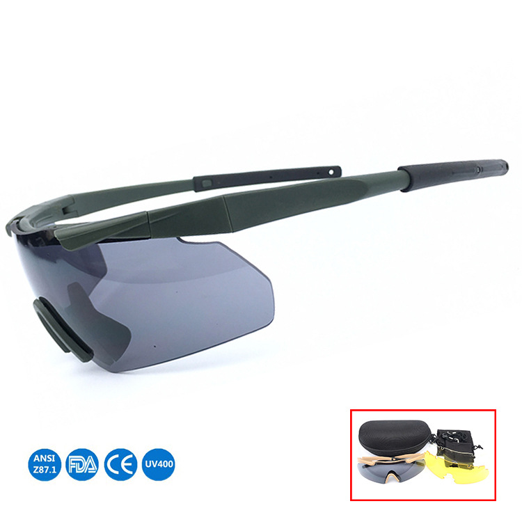 CS Outdoor Bulletproof Tactical Glasses Goggles Crossbow Army Fans Eye-protection Goggles Shooting Glasses