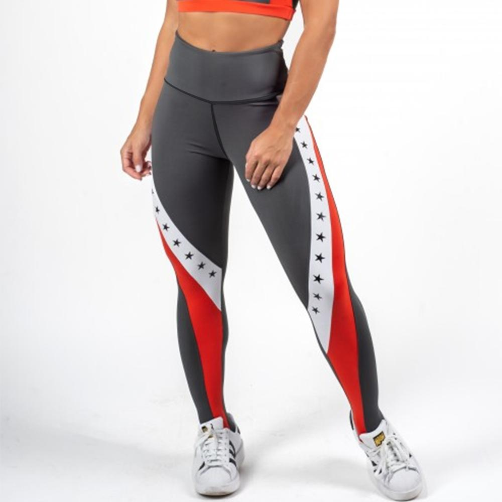 Fitness Elastic Force Women Polyester Fashion Leggings Workout New Style Skinny Ladies Sporting Leggings
