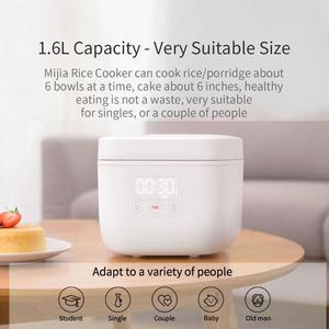 Image 4 - شياو mi جهاز طهي الأرز غير عصا 1.6L 400W وعاء طبخ أرز كهربائي mi المنزل App التحكم الذكية ماكينة طهي جهاز طهي الأرز الصغيرة المحمولة