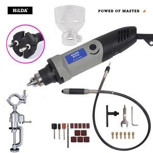 Image 1 - הילדה 400W dremel סגנון חשמלי משתנה מהירות עבור Dremel רוטרי כלי מיני תרגיל fordremel כלים טחינת מכונת מיני מטחנות
