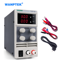 Wanptek Variable Laboratory Power Supply Adjustable 120V 60V 30V 15V 2A 3A 5A 10A k3010d Voltage Current Regulator Bench Source