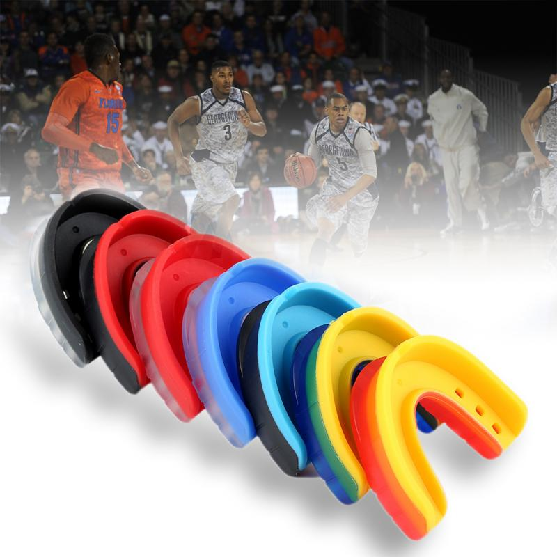 1 Set Sports Mouthguard Mouth Guard Teeth Protect Basketball Silicone Teeth Protector Adult Oral Guard BoxingTeeth Braces