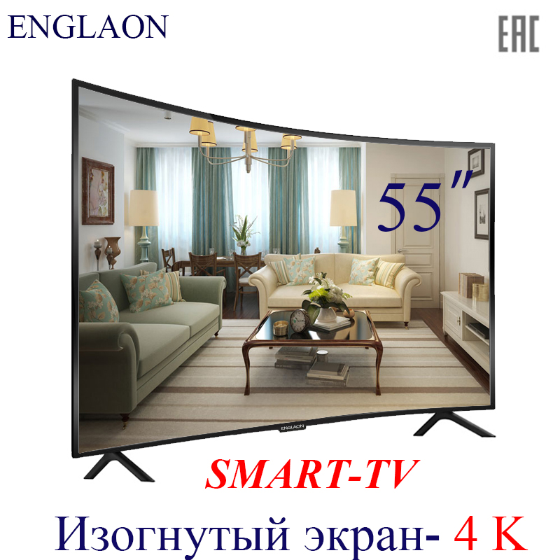 TV 55 inch  smart tv  4k tv  Curved  TV  android 7.0    digital  LED  TV title=