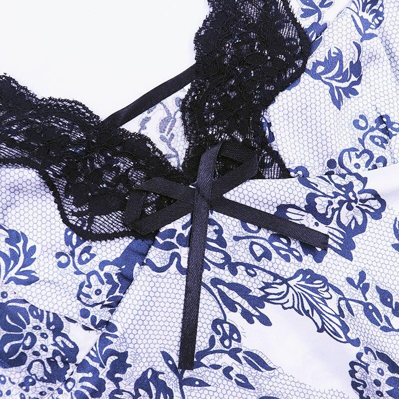 Lace Lingerie Sleepwear Dress