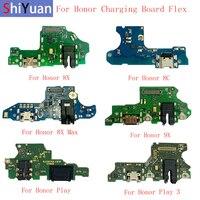 Original USB Lade Dock Port Connector Board Flex Kabel Für Huawei Ehre 8C 8X 8X Max 9X Spielen Spielen 3 hinweis 10 Ersatz Teil