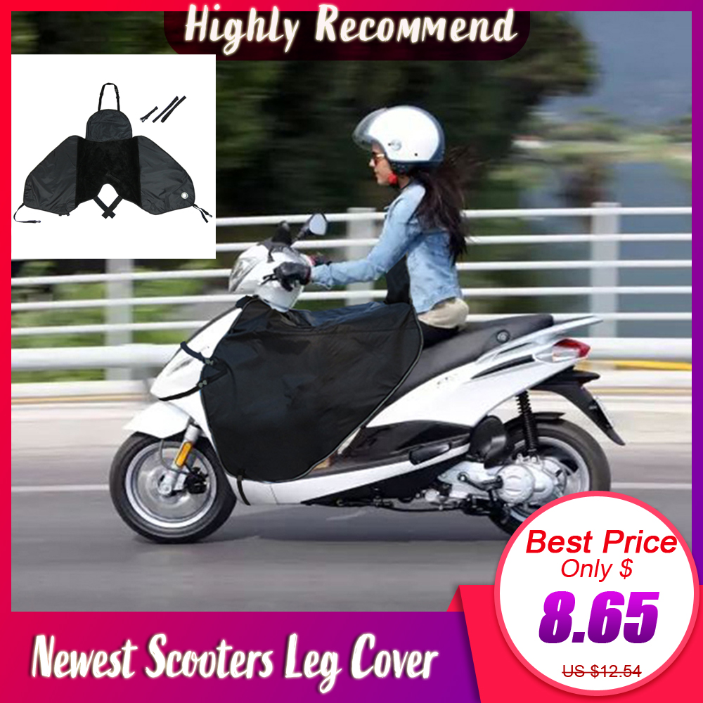 Scooters Leg Cover Knee Blanket Warmer Waterproof Windproof Motorcycle Winter Quilt And Thick Gloves For Honda For Peugeot