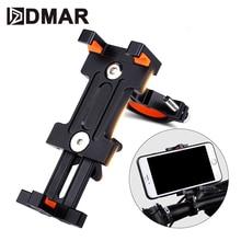 цена на Bicycle Phone Holder Motorcycle Handlebar Clip For Universal Mobile Phone Bike Handlebar Stand GPS Mount Bracket