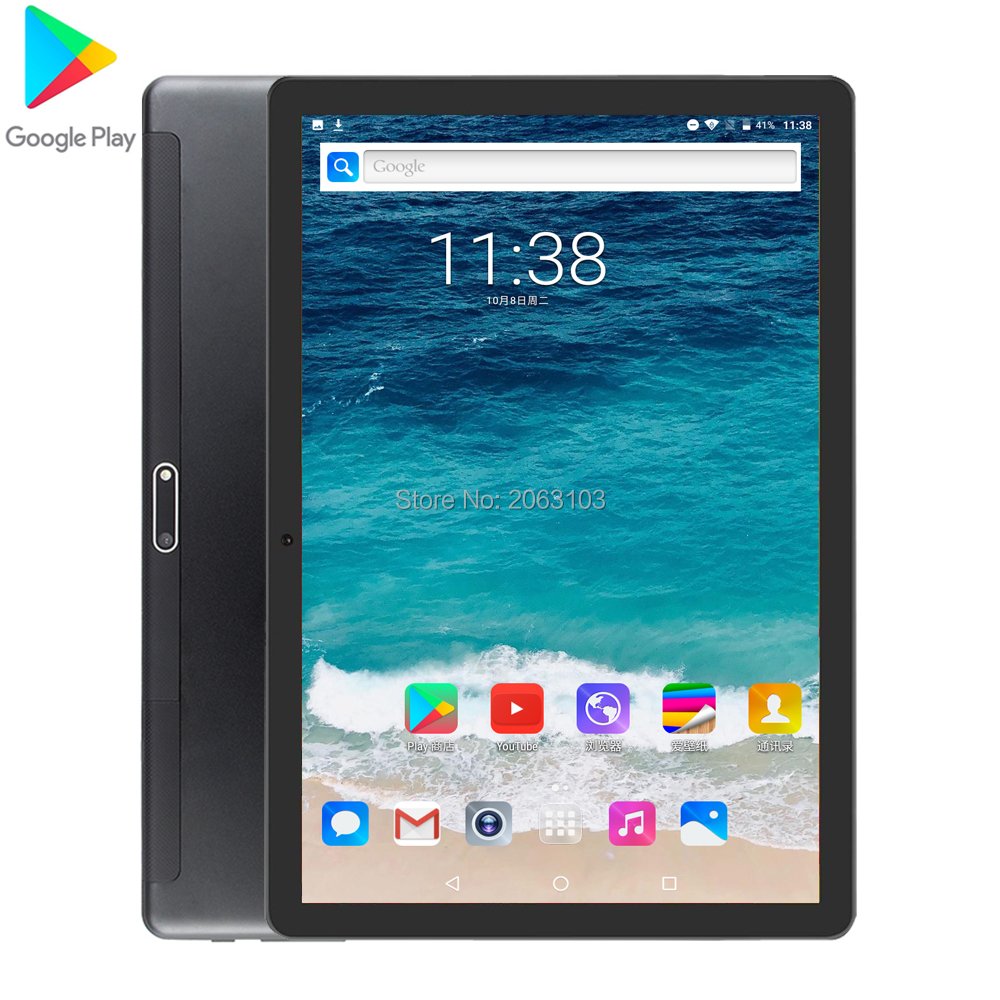 Newest 10.1 Inch Tablet Pc Android 7.0 2GB RAM 32GB ROM 3G Phone Call Dual SIM Cards  WiFi GPS Bluetooth