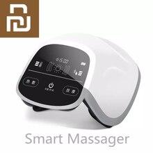 Youpin mini masajeador multifunción inteligente, 360 °, Fisioterapia por infrarrojos, pantalla táctil grande, compacto y portátil, todo en uno