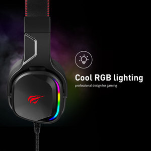Image 4 - Havit หูฟังสำหรับเล่นเกม 7.1 เสียงรอบทิศทาง USB แบบมีสาย RGB เกมหูฟังพร้อมไมโครโฟนสำหรับแท็บเล็ต PC XBOX ONE PS4