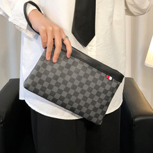 Tidog New Plaid Fashion Bag Wild Handbag casual clutch