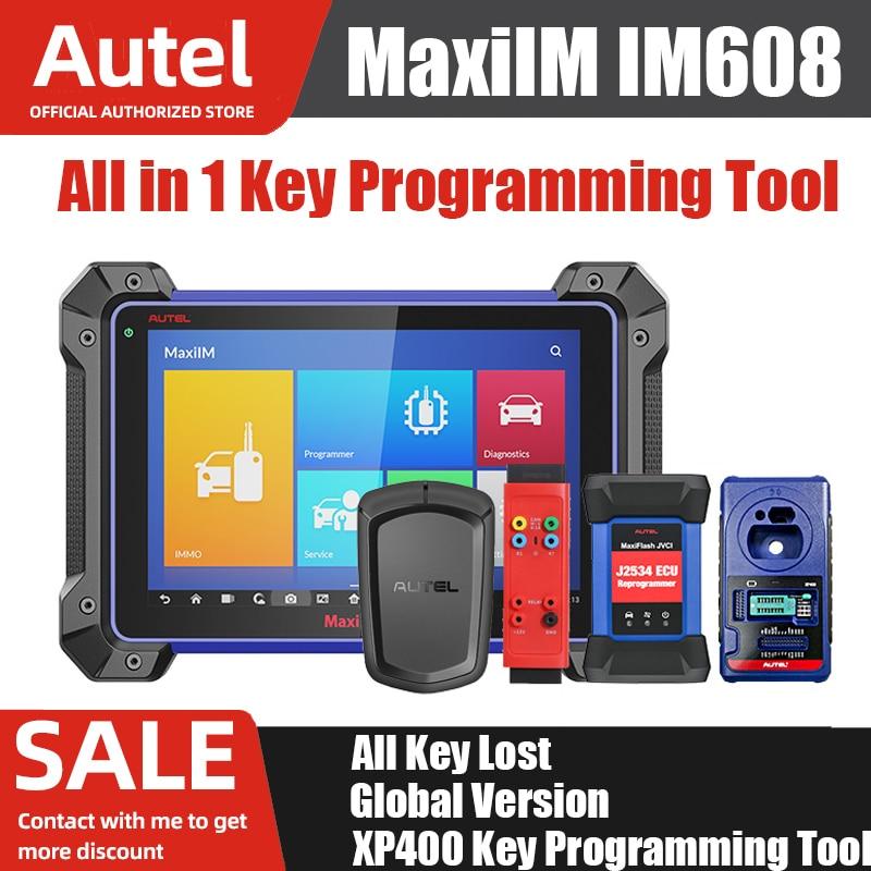 Autel MaxiIM IM608 Car Diagnostic Scanner XP400 Key Programming Tools  Bi-Directional Obd2 Scanner For Auto J2534 APB112 - Special Deal #87B48 |  Cicig