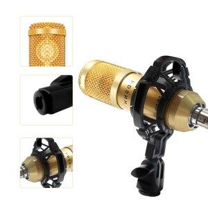 Image 2 - Bm 800 8 Colori Microfono A Condensatore BM800 Mikrofon KTV Bm 800 Mic Con Shock Mount Per La Radio Studio Microfono Professionale