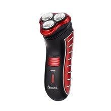 цена на USB Rechargeable Beard Trimmer 3D Triple Floating Blade Head Men Electric Shaver Razor Beard Shaving Machine Barber Shaver