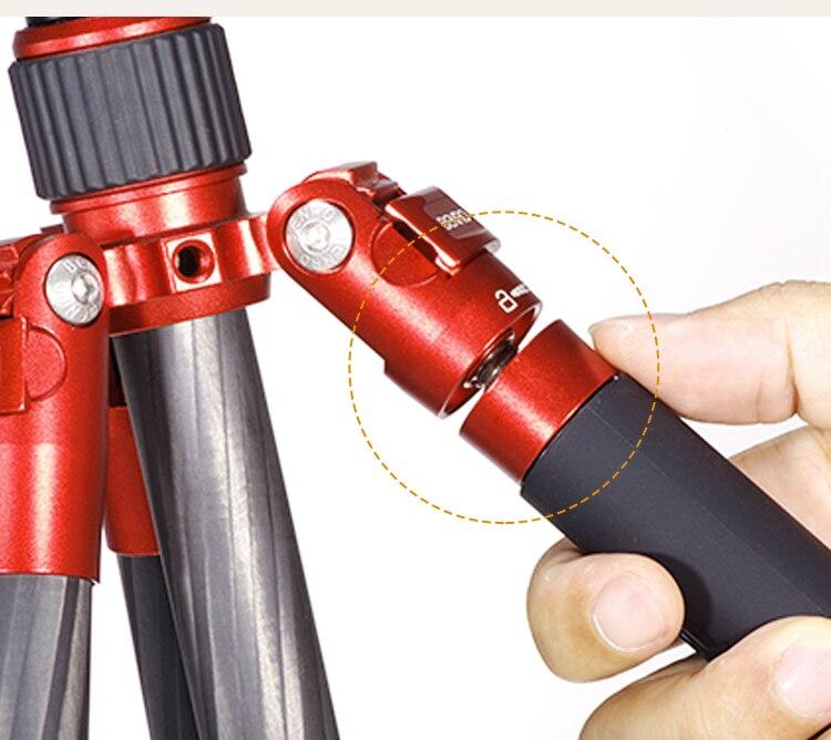 Image 5 - MC09 BENRO carbon fiber tripod SLR camera micro single bracket travel portable PTZ tripod setTripods   -