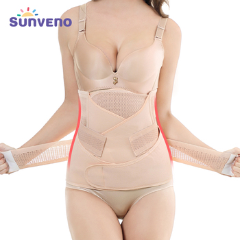 3in1 Belly/Abdomen/Pelvis Postpartum Belt Body Recovery Shapewear Waist Cinchers Trainer Corset Belly Bands Pregnancy&Maternity