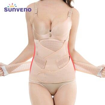 3in1 Belly/Abdomen/Pelvis Postpartum Belt Body Recovery Shapewear Waist Cinchers Waist Trainer Corset Belly Bands Support