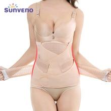 3in1 barriga/abdômen/pélvis pós-parto cinto recuperação do corpo shapewear cintura cinchers trainer espartilho barriga bandas gravidez & maternidade