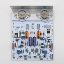 組み立てるリニアパラレルレギュレータ電源ボードpsu naim NAP250アンプと角アルミ