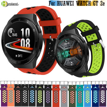 22mm bracelet Watchband For huawei watch gt 2e / gt 2 46mm smart silicone wristband For Huami Amazfit gtr 47mm watch strap belt leather bracelet watchband wrist band for honor magic for huawei watch gt 2e gt2 46mm bracelet strap for huami amazfit gtr 47 mm