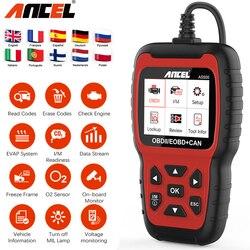 ANCEL AS500 Obd2 Scanner Multilingual Engine Code Reader Odb2 Obd 2 Automotive Diagnostic Scanner Car Diagnostics Tool PK KW850