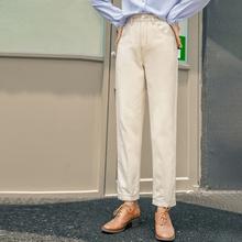 INMAN 2020 zima nowy nabytek New Arrival spodnie dla kobiet bawełna wygodne spodnie w połowie talii luźne rekreacyjne moda sportowa tanie tanio COTTON Pełnej długości CN (pochodzenie) 1804219 Plaid Na co dzień Proste Mieszkanie Osób w wieku 18-35 lat NONE Suknem