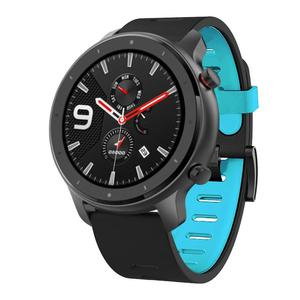 Image 2 - For Huami AMAZFIT GTR 47mm Replacement Sport Silicone Watch Band Wrist Strap Smart watch Bracelets accessories #729