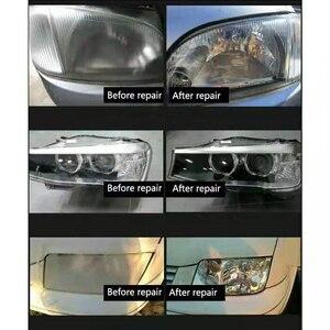 Image 5 - Revêtement de phares de voiture, Kit de réparation de phares de voiture, anti rayures, verre, polissage, 800g