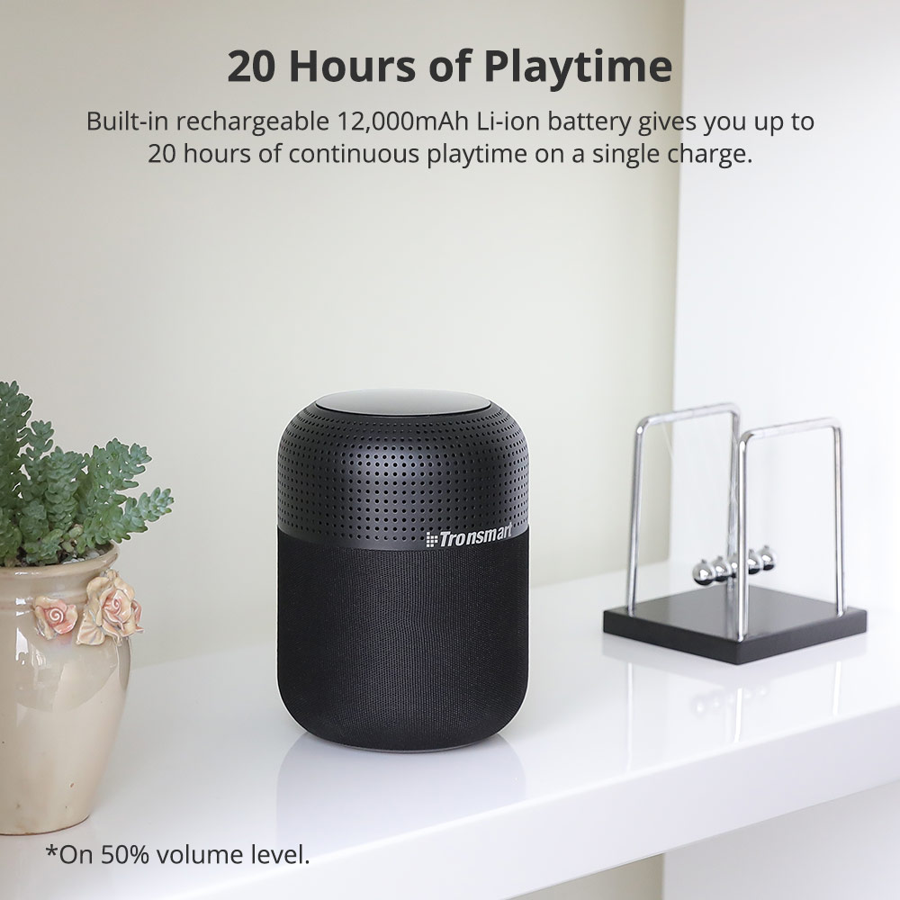 Tronsmart T6 Max Bluetooth Speaker 60W Home Theater Speakers TWS Bluetooth Column with Voice Assistant, IPX5, NFC, 20H Play time (17)