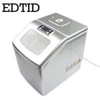 EDTID New high quality Small commercial ice machine household ice machine tea milk shop